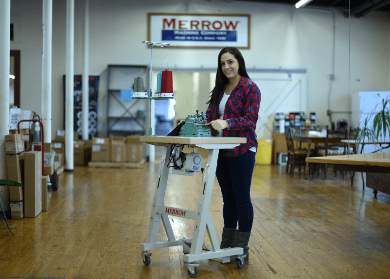 Merrow Helmsman Compact Professional Sewing Table