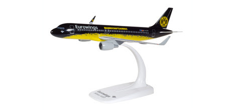 Herpa Snap-Fit (Wooster) 1:200 | Airbus A320 Eurowings D-AIZR, 'BVB Mannschaftsairbus' | is due : January  / February 2020
