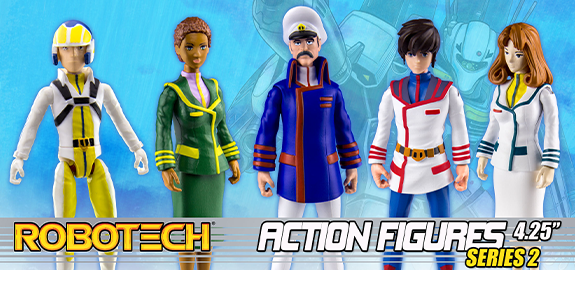 ROBOTECH WAVE 2 ACTION FIGURES