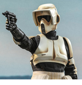The Mandalorian TMS016 Scout Trooper 1/6 Scale Collectible Figure