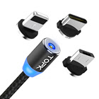 Free Shipping TOPK AM23 1M LED Magnetic Charging USB Cable