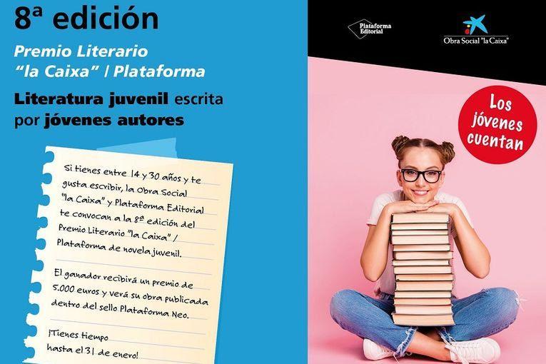 """8º Premio Literario """"La Caixa""""/Plataforma"""