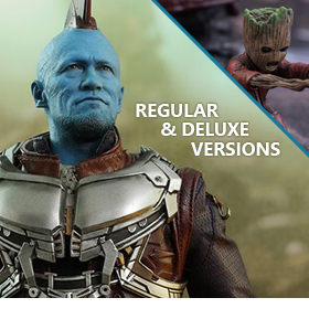 HOT TOYS GOTG VOL.2 YONDU (REGULAR & DELUXE)