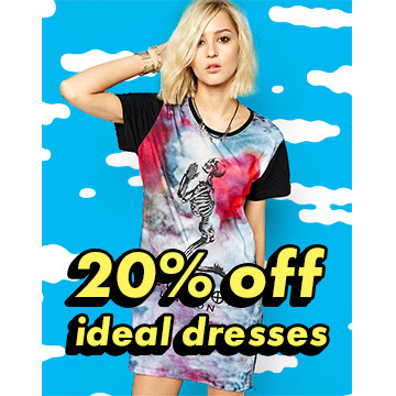 Save 20% off ideal dresses + free delivery worldwide at Asos.com