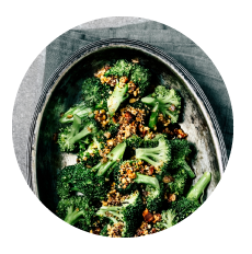 healthy side dish - broccoli
