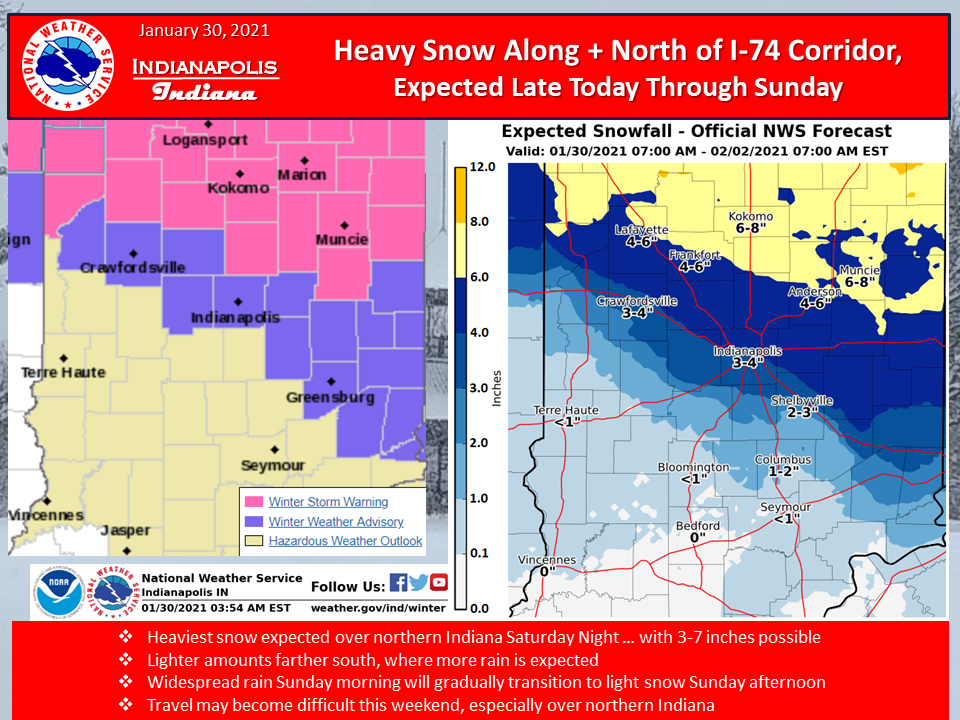 NWS Map 1-30-21