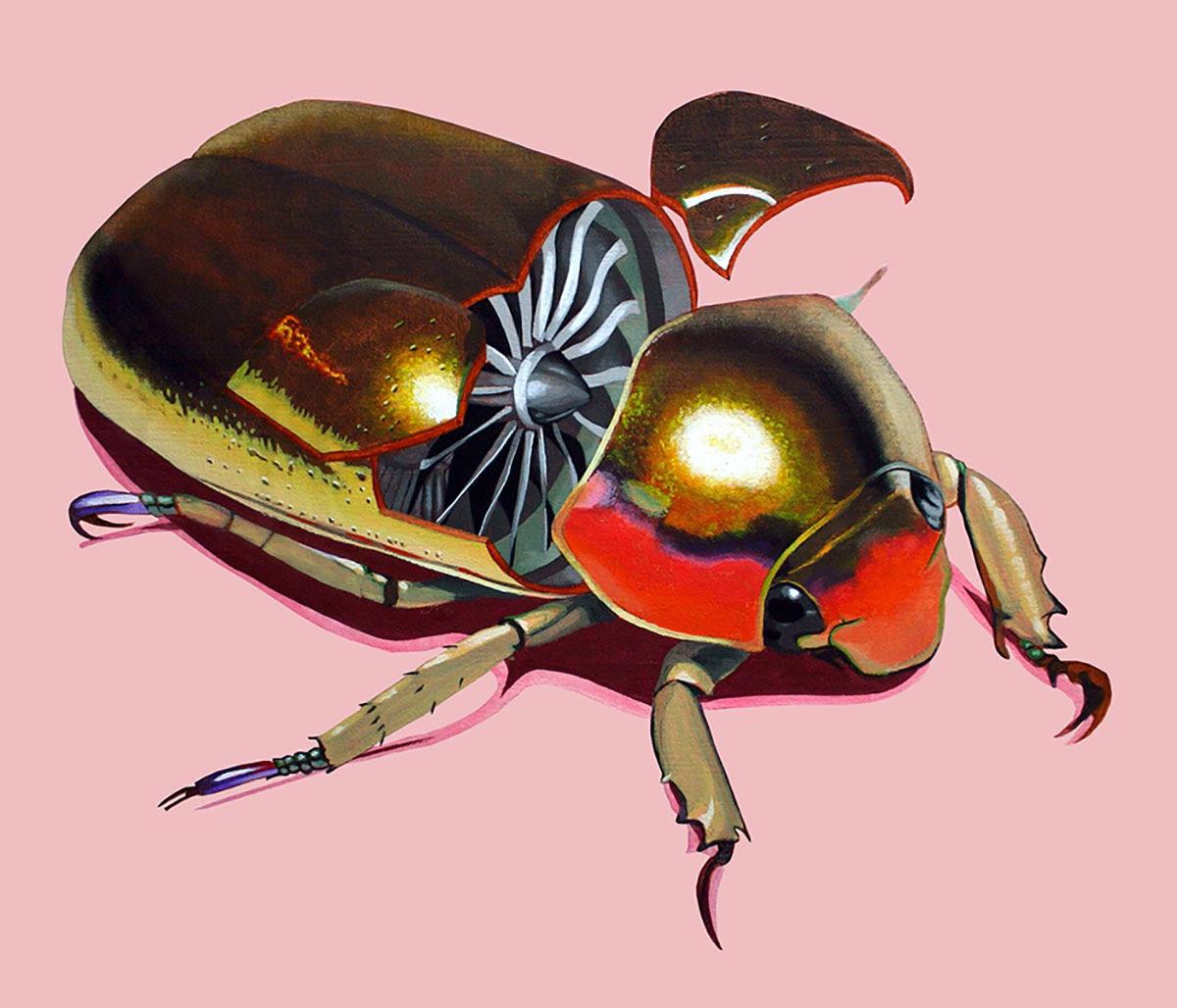 mechanical beetle