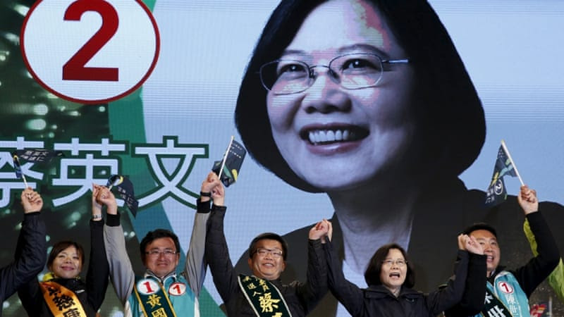 The election of Tsai Ing-wen represents nothing short of a potential regime change, given the DPP's left-leaning socioeconomic policies, writes Heydarian [Reuters]