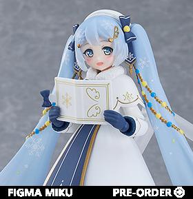 Vocaloid figma EX-060 Snow Miku (Glowing Snow Ver.)