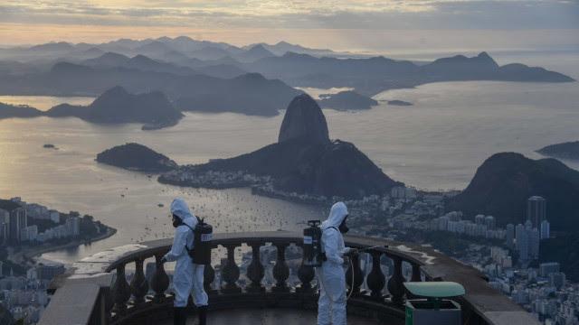 Estado do Rio registra 224 mortes e 4.187 novos casos de covid-19 em 24 horas