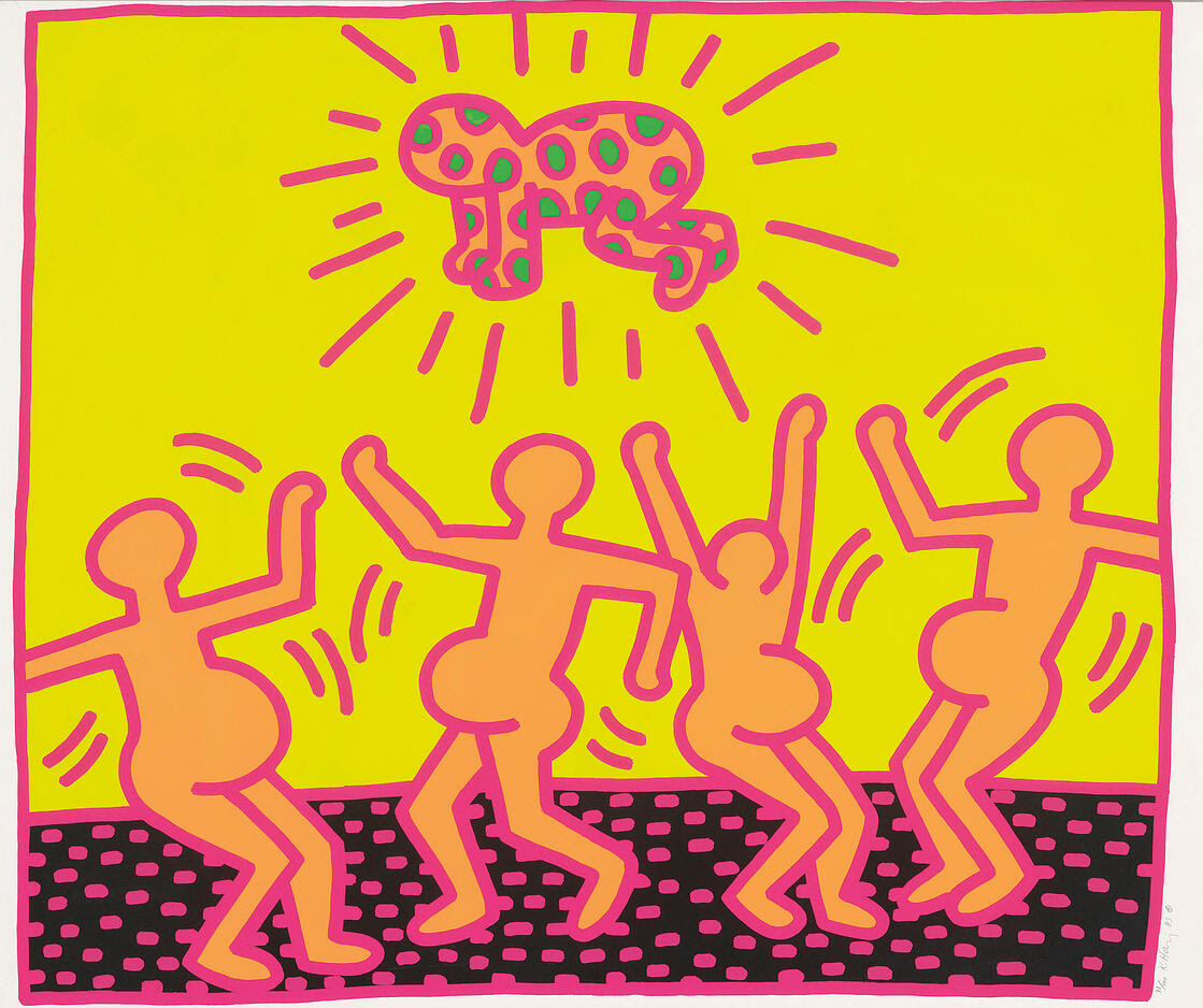 Keith Haring - Fertility Suite Untitled 1