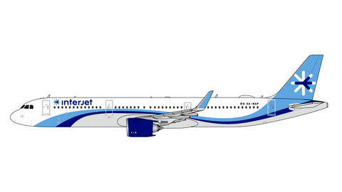 GJAIJ1884   Gemini Jets 1:400 1:400   Airbus A321neo Interjet XA-MAP   is due: February 2020
