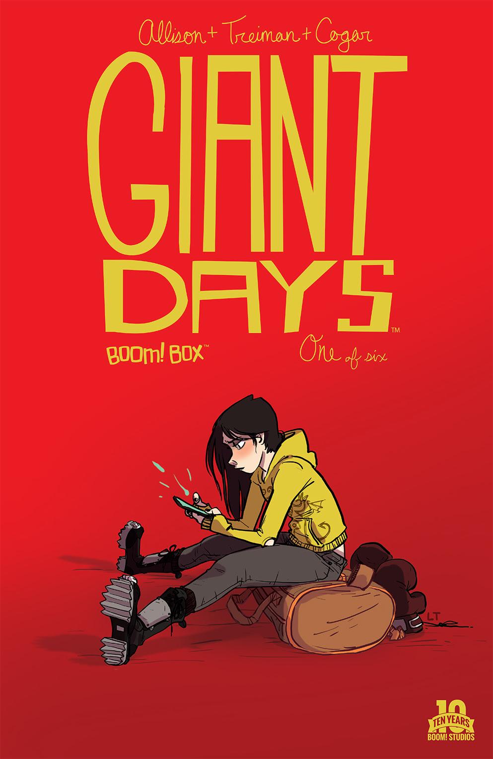 Giant Days #1 2nd Print