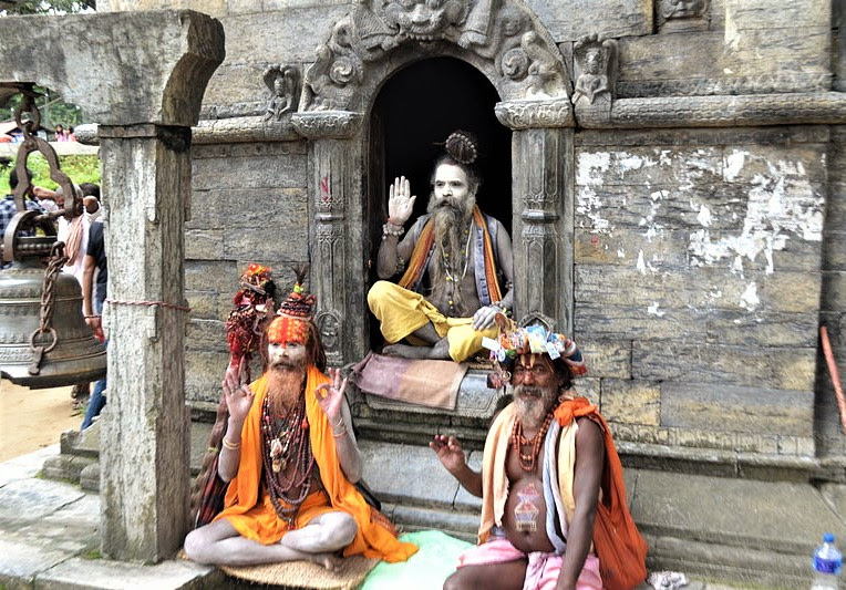 Pashupatinath temple outside Kathmandu, Nepal. (Wikipedia, Sebbe xy)