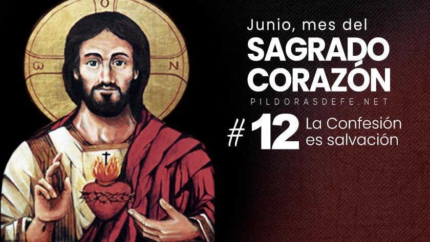 Mes del Sagrado Corazón de Jesús: Día 12: La confesión es salvación