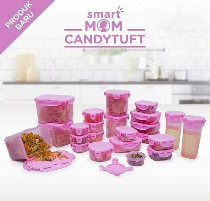 Psstt.. Segera Hadir di Dapur Anda.. Smart Mom Candytuft Set of 23 [Pre-Order]