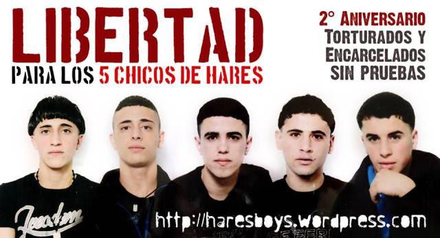 Los Chicos de Hares condenados a más de 15 años de prisión