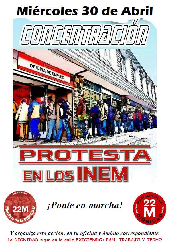 Marchas de la dignidad vallekas for Oficinas de renfe en madrid