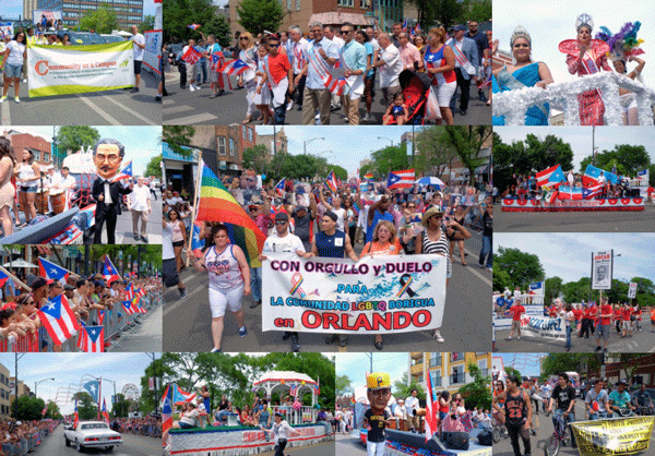 During 38th Puerto Rican Peoples Parade: