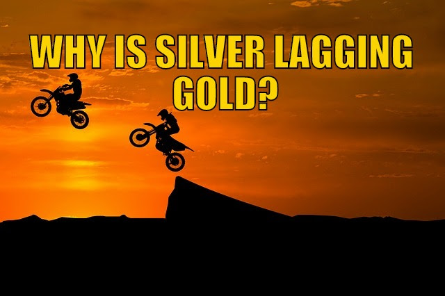 Why is Silver Lagging Gold?