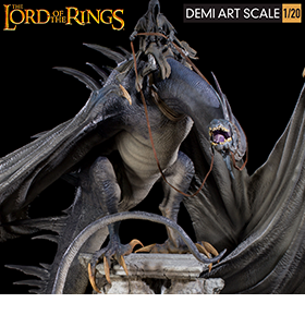 The Lord of the Rings Fell Beast 1/20 Demi Art Scale Limited Edition Diorama