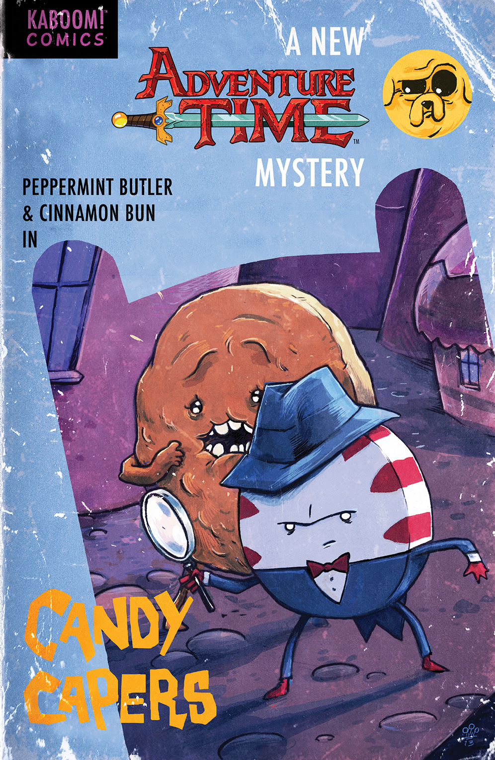 ADVENTURE TIME: CANDY CAPERS TP Cover by Michael Dialynas