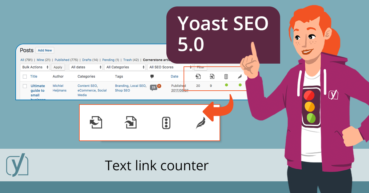 Yoast SEO 5.0 new features