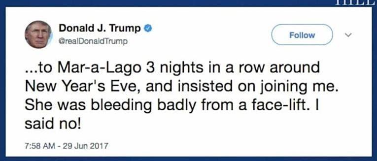 Trump Tweet Mika