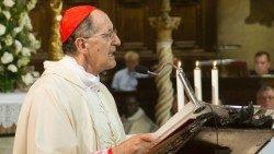 Le cardinal Beniamino Stella, préfet de la Congrégation pour le Clergé