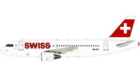 Airbus A319-112 Swiss HB-IPT | is due: June 2019