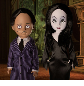 LDD Presents: The Addams Family Gomez and Morticia Two-Pack