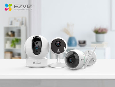 EZVIZ today announced three products C6CN, C1C, and C3WN (from left to right), introducing upgraded smart security solutions to US customers.