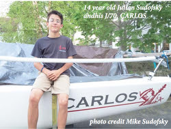 J/70 youth sailboat- for youth sailing programs