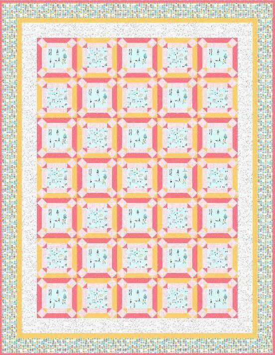 dear stella- promenade- published pattern by Denise russell