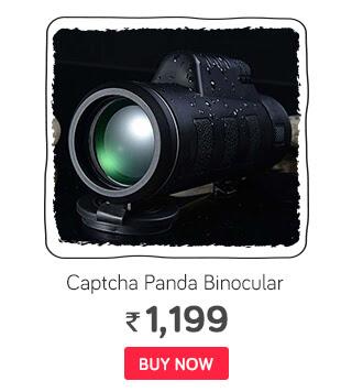 Captcha Panda Binocular