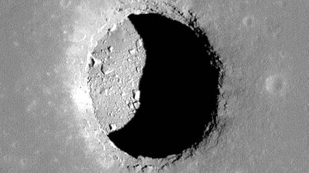 lavatunnel2 - Hombres BAJO la Luna: Los humanos podrían vivir en túneles de lava debajo de la superficie lunar