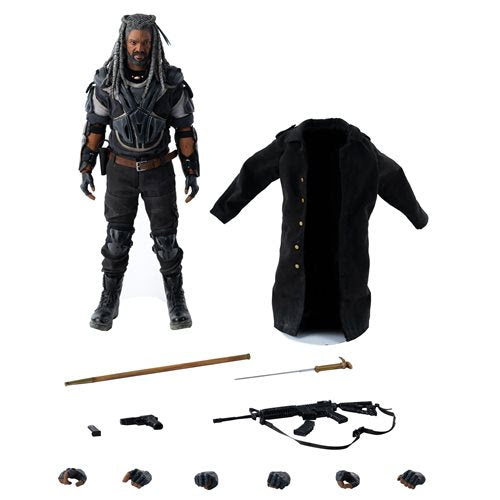 Image of The Walking Dead King Ezekiel 1:6 Scale Action Figure - MAY 2021