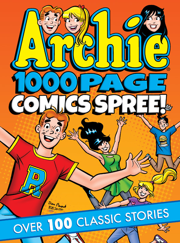 Archie 1000 Page Comics Spree Cover