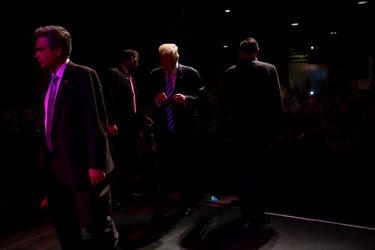 Donald J. Trump at a campaign event in Dallas last week.