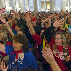 West Virginia educators take their power to the polls
