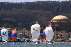J/24s sailing San Francisco Bay