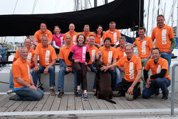 Yvonne Buesker and Two-handed crews at North Sea regatta