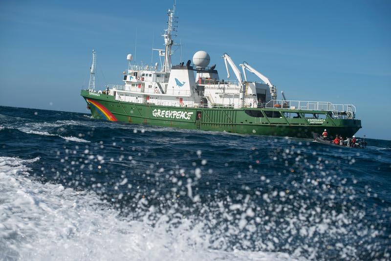 Bateau Esperanza Greenpeace