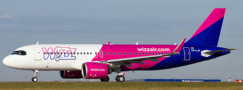 LH4185 | JC Wings 1:400 | Airbus A320neo Wizz Air HA-LJA | is due: August 2020
