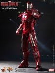 "Iron Man 3 Movie Masterpiece Iron Man Mark                     XXXIII Silver Centurion 12"" Hot Toys"