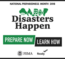 National Preparedness Month 2018 Logo