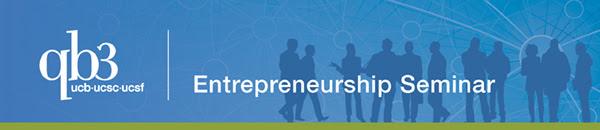 QB3 entrepreneurship seminar banner