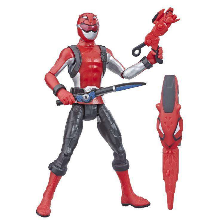 Image of Power Rangers Beast Morphers Basic Wave 1 Red Ranger
