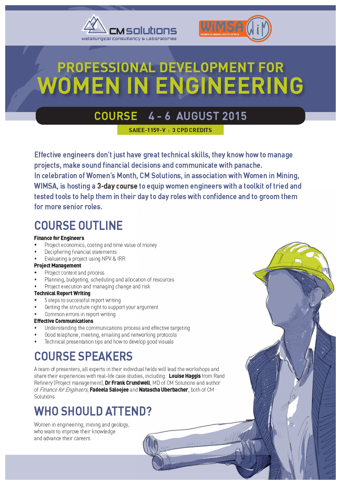 3 Day Professional Development Course Coming Up Developed For Women