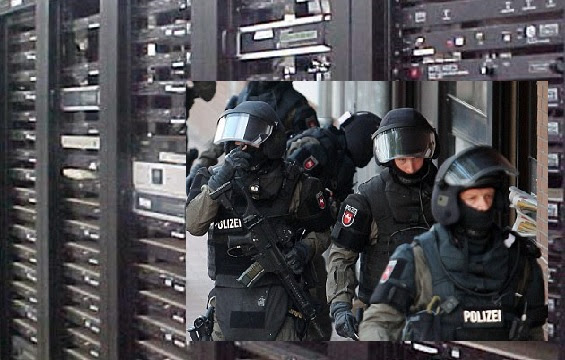 The US Military Has Raided And Seized Servers In Germany Tied To The Dominion Election System Computer-raid-germany-police-